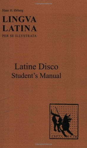 Latine Disco  Student Manual, Study Guide, etc.  edition cover
