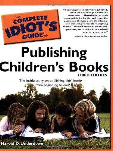Complete Idiot's Guide to Publishing Children's Books  3rd edition cover