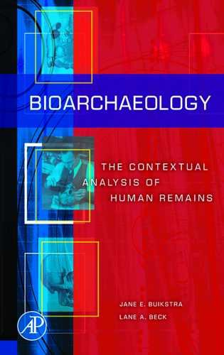 Bioarchaeology The Contextual Analysis of Human Remains  2006 9781598744507 Front Cover