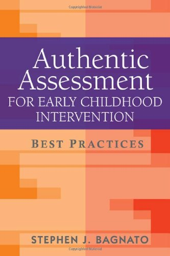 Authentic Assessment for Early Childhood Intervention Best Practices  2009 edition cover