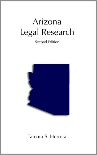 Arizona Legal Research  2nd edition cover