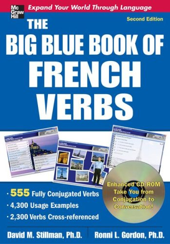 Big Blue Book of French Verbs  2nd 2009 edition cover