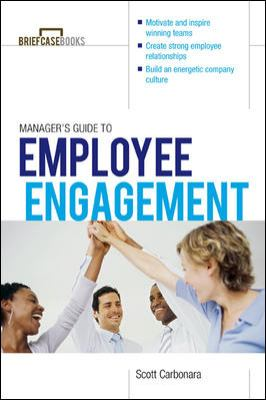 Manager's Guide to Employee Engagement   2013 edition cover