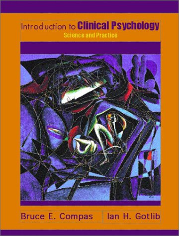 Introduction to Clinical Psychology Science and Practice  2002 (Student Manual, Study Guide, etc.) edition cover