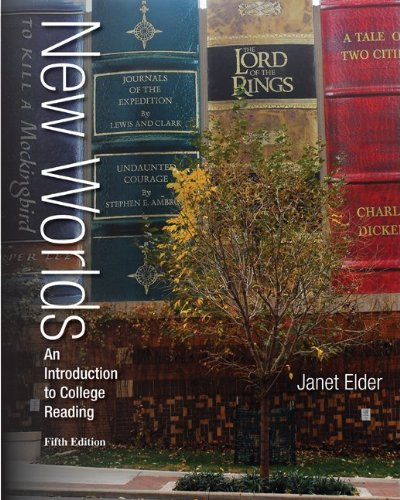 New Worlds - An Introduction to College Reading  5th 2014 edition cover