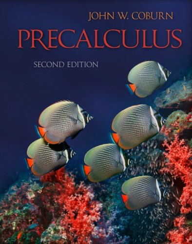 Precalculus  2nd 2010 edition cover