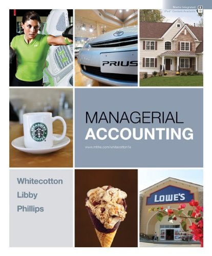Managerial Accounting with Connect Plus   2011 edition cover
