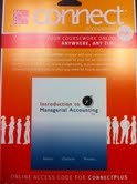 INTRO.TO MANAGERIAL ACCOUNTING N/A 9780077429508 Front Cover