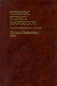 Forensic Science Handbook  1st 1982 9780133268508 Front Cover
