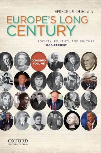 Europe's Long Century Society, Politics, and Culture, 1900-Present  2012 edition cover