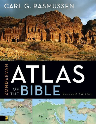 Atlas of the Bible   2009 (Revised) edition cover