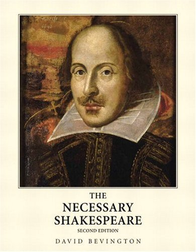 Necessary Shakespeare  2nd 2005 (Revised) edition cover