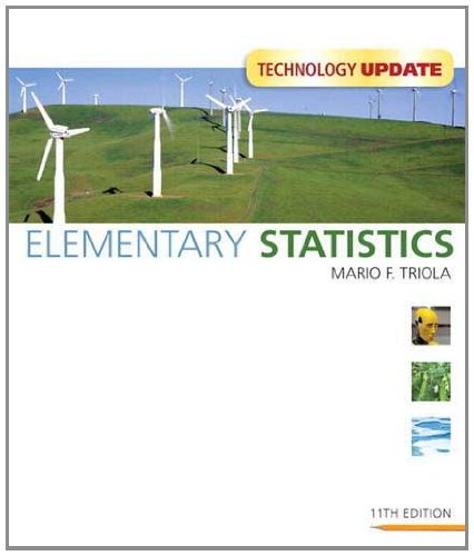 Elementary Statistics  11th 2012 (Revised) edition cover