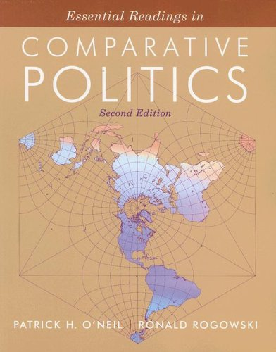 Essential Readings in Comparative Politics  2nd 2006 edition cover