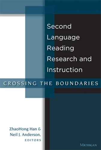 Second Language Reading Research and Instruction Crossing the Boundaries  2009 9780472033508 Front Cover