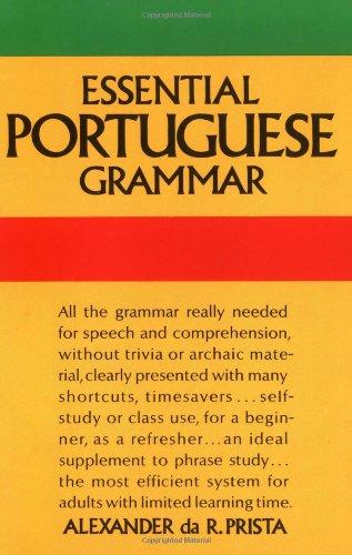 Essential Portuguese Grammar   1966 edition cover