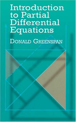Introduction to Partial Differential Equations   2000 (Unabridged) 9780486414508 Front Cover
