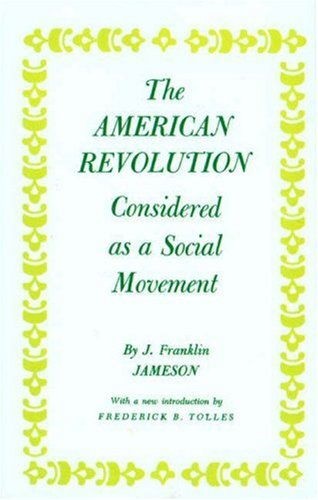 American Revolution Considered as a Social Movement   1968 edition cover