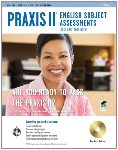 Praxis II English (0041, 0042, 0043, 0049)  2nd (Revised) edition cover