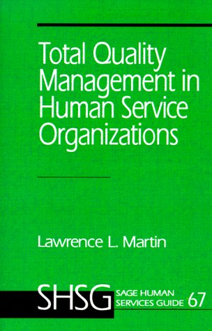 Total Quality Management in Human Service Organizations   1993 edition cover