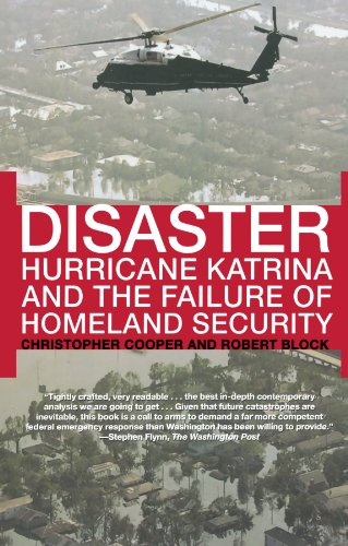 Disaster Hurricane Katrina and the Failure of Homeland Security  2007 9780805086508 Front Cover