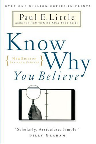 Know Why You Believe 2nd 2000 (Revised) edition cover