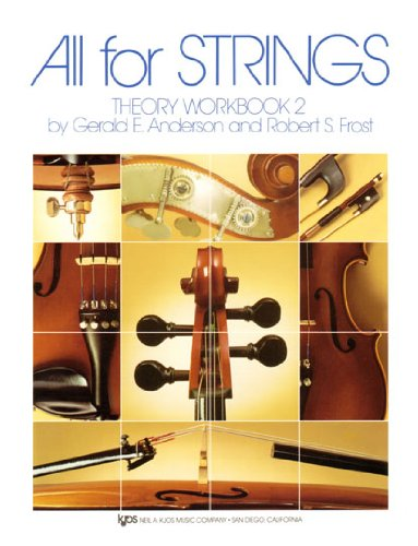 All for Strings Theory No. 2 : Violin Workbook  edition cover