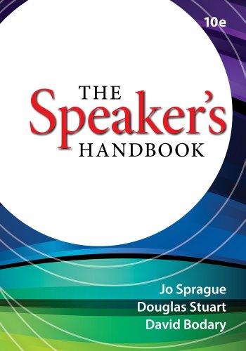 Speaker's Handbook  10th 2013 edition cover