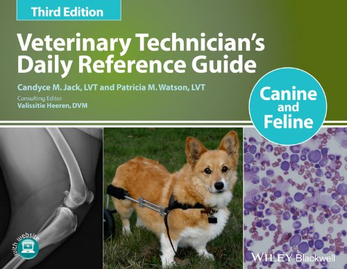 Veterinary Technician's Daily Reference Guide Canine and Feline 3rd 2014 edition cover