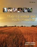 Modern Livestock and Poultry Production  9th 2016 edition cover