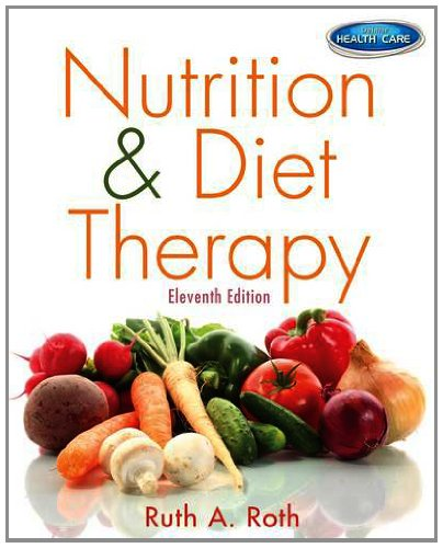 Nutrition & Diet Therapy 11th 2013 edition cover