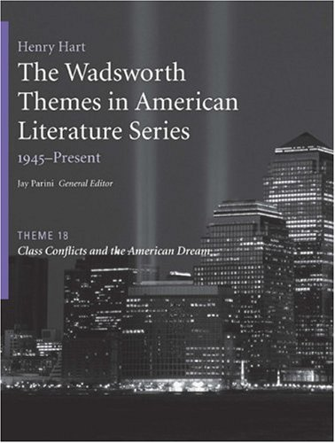 Class Conflicts and the American Dream   2009 edition cover