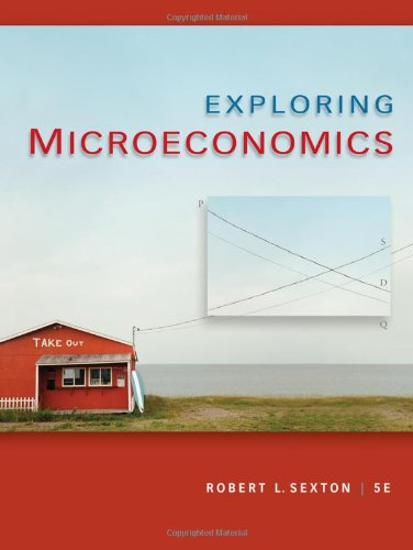 Exploring Microeconomics  5th 2011 edition cover