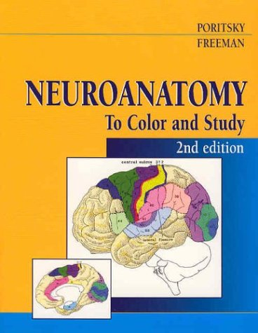Neuroanatomy to Color and Study  2nd 2003 (Revised) edition cover