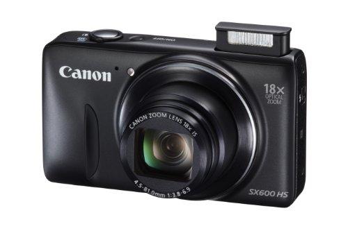 Canon PowerShot SX600 HS 16MP Digital Camera (Black) product image