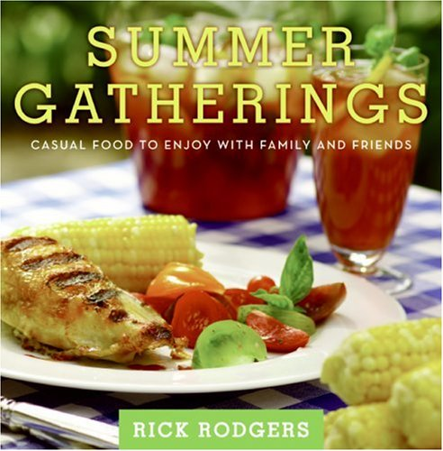Summer Gatherings Casual Food to Enjoy with Family and Friends N/A 9780061438509 Front Cover