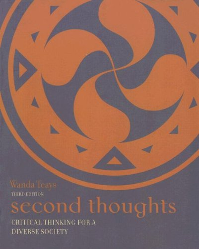 Second Thoughts Critical Thinking for a Diverse Society 3rd 2006 edition cover