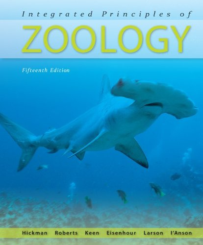 Integrated Principles of Zoology  15th 2011 edition cover