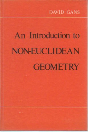 Introduction to Non-Euclidean Geometry   1973 edition cover