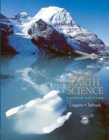 Foundations of Earth Science  4th 2005 (Revised) edition cover