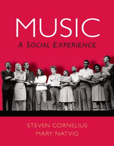 Music A Social Experience  2012 (Revised) 9780136017509 Front Cover