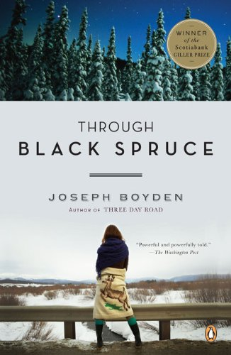 Through Black Spruce   2010 edition cover