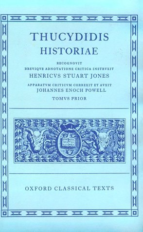 Thucydidis Historiae  2nd 1942 (Revised) edition cover