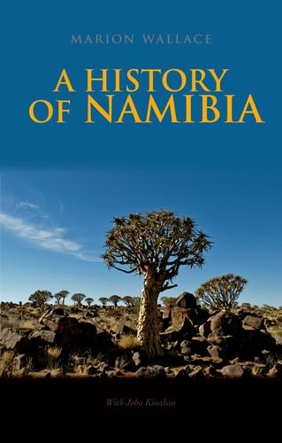 History of Namibia From the Beginning To 1990  2013 edition cover