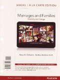 Marriages and Families, Books a la Carte Edition  7th 2013 edition cover