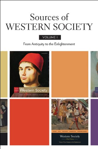 Sources of Western Society From Antiquity to the Enlightenment  2010 edition cover