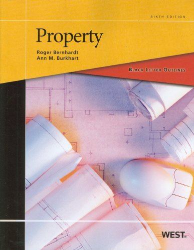 Black Letter Outline on Property  6th 2012 (Revised) edition cover