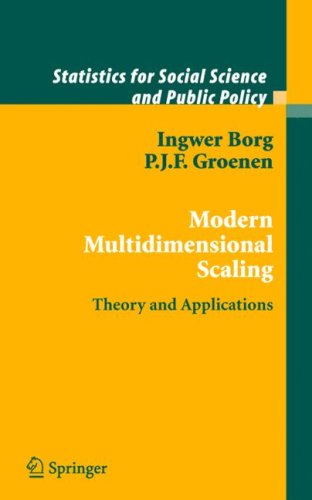 Modern Multidimensional Scaling Theory and Applications 2nd 2005 (Revised) edition cover
