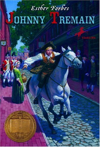 Johnny Tremain   1971 edition cover
