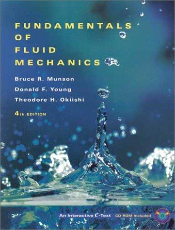 Fundamentals of Fluid Mechanics  4th 2002 edition cover